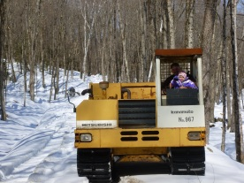 "Sugaring in the ""Track Dumper"""