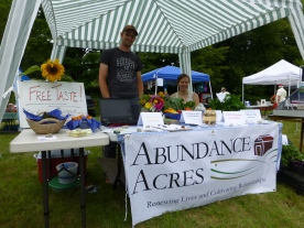 Abundance Acres Booth