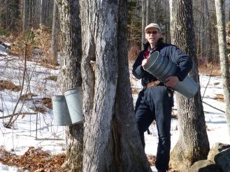 Haning buckets