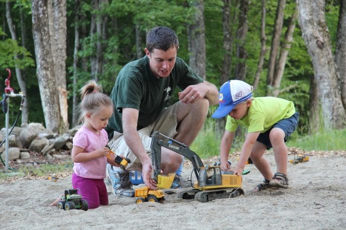 Sand Box Fun