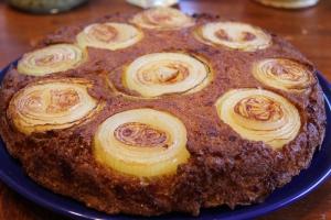 Sweet Onion Upside Down Cornbread