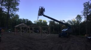 Rafter Instalation