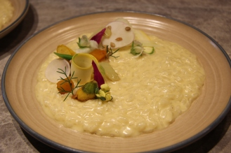 Vegetable Risotto featuring Roasted Fennel