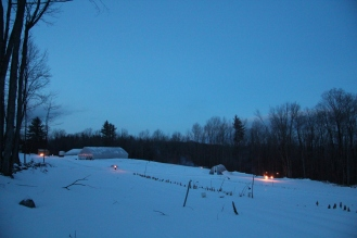 Torches on the Farm