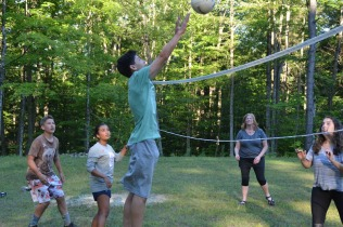 Volley Ball Action