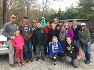 Volunteer Group Picture
