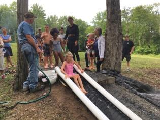 Water Slide Fun