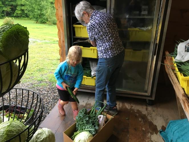 Helping on Distribution Morning